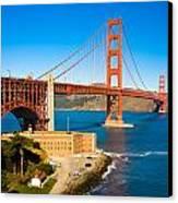 Golden Gate Bridge Canvas Print by Darren Patterson
