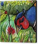 In My Magic Garden Canvas Print by Angel  Tarantella