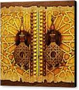 Medina Of Faz Canvas Print by Catf