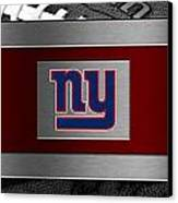 New York Giants Canvas Print by Joe Hamilton