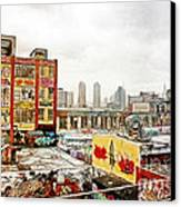 5 Pointz In Itz Prime Canvas Print by Nishanth Gopinathan