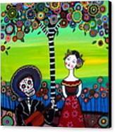 Serenata Canvas Print by Pristine Cartera Turkus