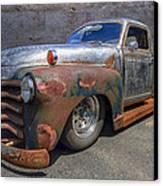 52 Chevy Truck Canvas Print by Debra and Dave Vanderlaan