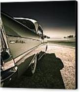 57 Chevrolet Bel Air Canvas Print by motography aka Phil Clark