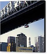 59th Street Tram - Nyc Canvas Print by Linda  Parker