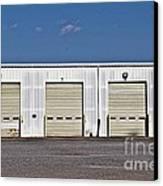 6 7 8 9 Warehouse  Canvas Print by JW Hanley