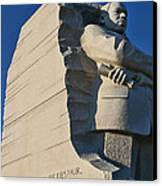 Martin Luther King Jr. Memorial Canvas Print by Allen Beatty