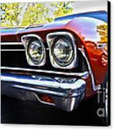 68 Chevelle  Color Canvas Print by Cheryl Young
