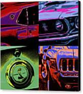 '69 Mustang Canvas Print by Gordon Dean II