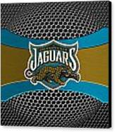 Jacksonville Jaguars Canvas Print by Joe Hamilton