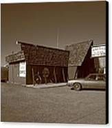 Route 66 - Bagdad Cafe Canvas Print by Frank Romeo