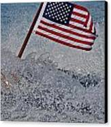 Stars And Stripes Canvas Print by Steven Lapkin