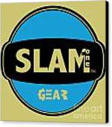 Slam One Gear Canvas Print by James Eye