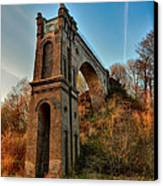 A Bridge No More Canvas Print by Mountain Dreams