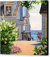 A Cape Cod Paradise Canvas Print by Laura Lee Zanghetti