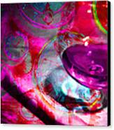 A Cognac Night 20130815m50 Canvas Print by Wingsdomain Art and Photography
