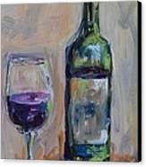 A Good Pour Canvas Print by Donna Tuten