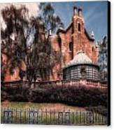 A Haunting House Canvas Print by Joshua Minso