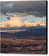 A Light In The Distance Canvas Print by Laurie Search