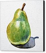A Pear Canvas Print by Irina Sztukowski