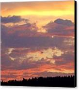 A Remarkable Sky Canvas Print by Will Borden
