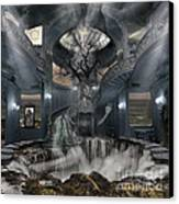 A Room Within My Mind Canvas Print by Keith Kapple