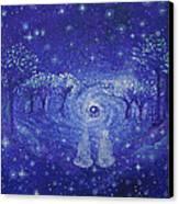 A Star Night Canvas Print by Ashleigh Dyan Bayer