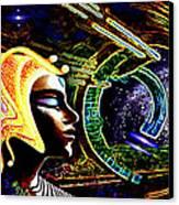A  Stellar  Lightship Pilot Canvas Print by Hartmut Jager