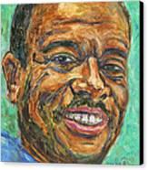A Teacher From Atlanta Ga Canvas Print by Xueling Zou