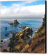 A View From Ecola State Park Canvas Print by Robert Bales