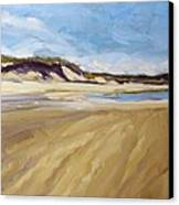 A Walk On The Beach Canvas Print by Colleen Kidder