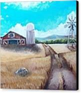 A Warm Welcome Canvas Print by Shana Rowe Jackson