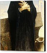 A Young Fellah Girl Canvas Print by William Adolphe Bouguereau