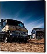 Abandoned Ford Van Canvas Print by Cale Best