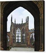 Abbey Ruin - Scotland Canvas Print by Mike McGlothlen