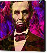 Abraham Lincoln 2014020502m68 Canvas Print by Wingsdomain Art and Photography