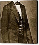 Abraham Lincoln Canvas Print by Mathew Brady