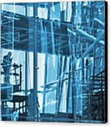 Abstract Architecture Canvas Print by Carlos Caetano