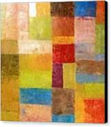 Abstract Color Study Vii Canvas Print by Michelle Calkins