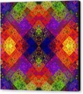 Abstract - Rainbow Connection - Panel - Panorama - Horizontal Canvas Print by Andee Design