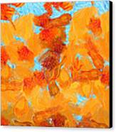 Abstract Summer Canvas Print by Pixel Chimp