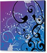 Abstract Swirl Canvas Print by Mellisa Ward