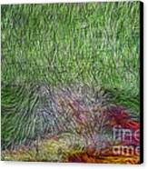 Abstraction Of Life Canvas Print by Deborah Benoit