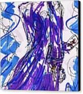 Aceo Joker V Canvas Print by Rachel Scott