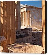 Acropolis Temple Canvas Print by Brian Jannsen