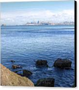 Across The Bay Canvas Print by JC Findley