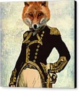 Admiral Fox Full Canvas Print by Kelly McLaughlan
