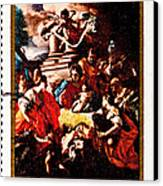 Adoration Of The Shepherds  Canvas Print by Jim Pruitt