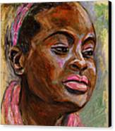 African American 3 Canvas Print by Xueling Zou