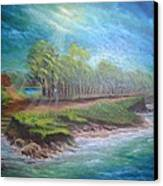 After The Storm Canvas Print by Affordable Art Halsey